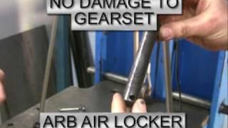 See how the ARB Air Locker stacks up against the Yukon Zip Locker on ARB's purpose built 30 tonne destructive test rig.