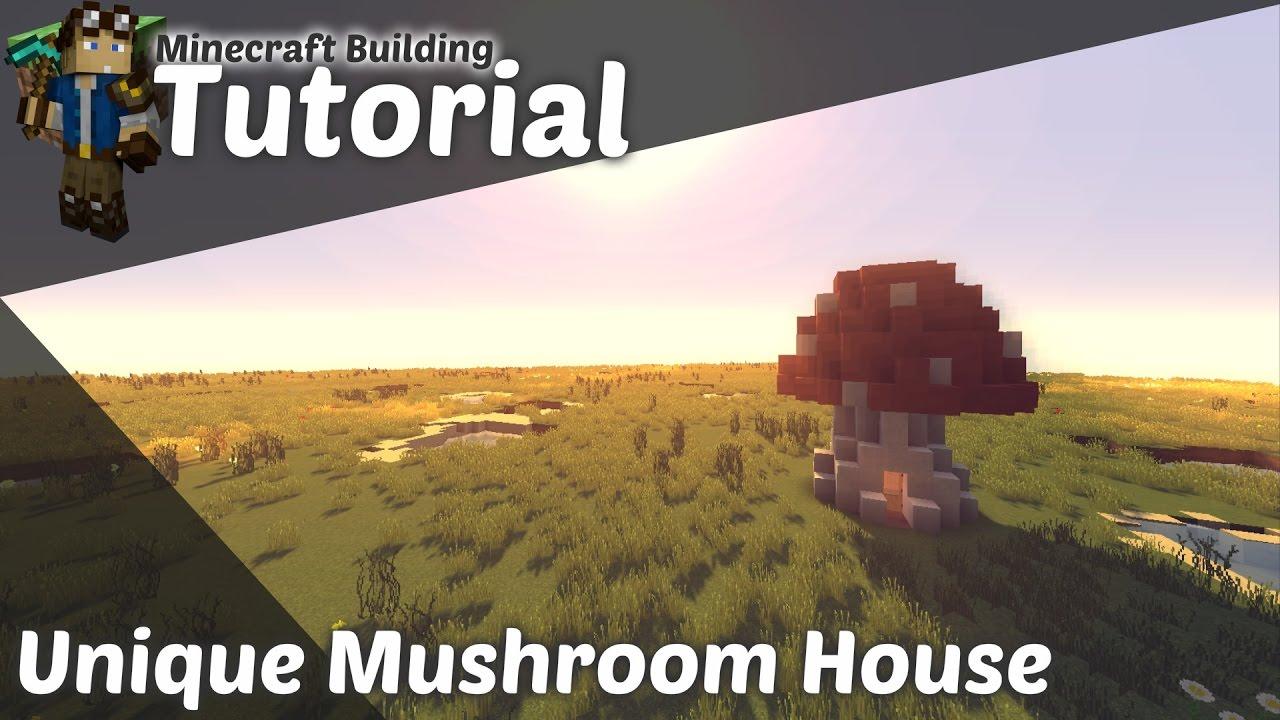 Minecraft Building Tutorial Unique Mushroom House