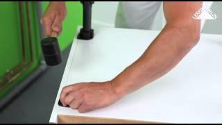 leroy merlin video comment poser des meubles de cuisine