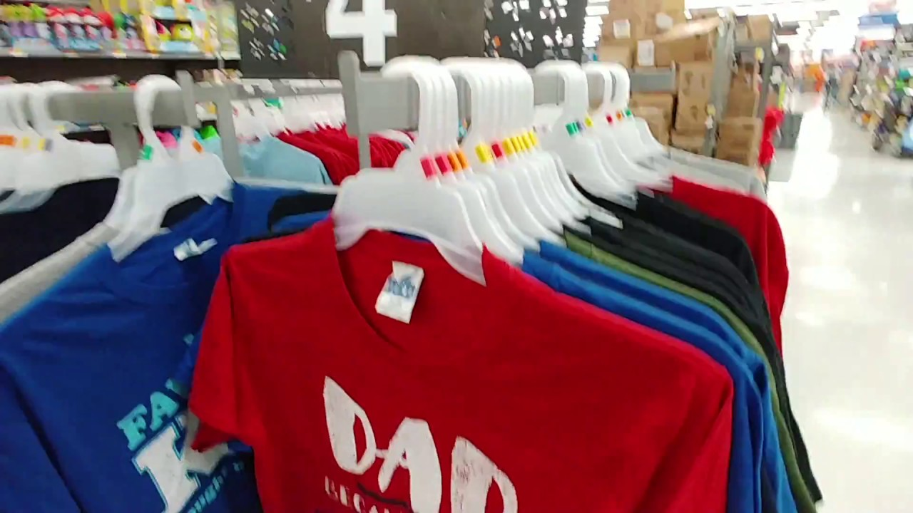 dc1a281a Father's Day Shirts At Wal-Mart 2018 - YouTube