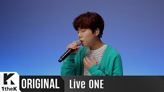LiveONE(라이브원): Jung Seung Hwan(정승환) _ The Voyager(우주선)