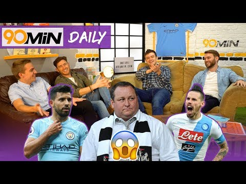 Will Guardiola playing style cause Man City burn out!? | Vince McMahon should buy Newcastle! | Daily