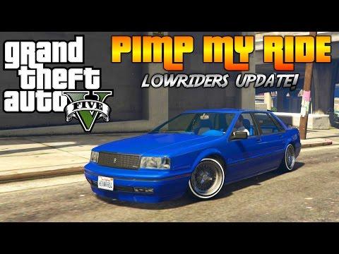 GTA 5 - Pimp My Ride #162   LOWRIDERS Primo Custom   Car Customization