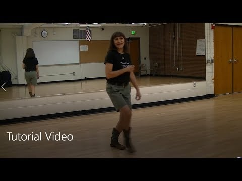 """Baby Just Say Yes"" Line Dance Tutorial - to Taylor Swift's ""Love Story""l Video thumbnail"