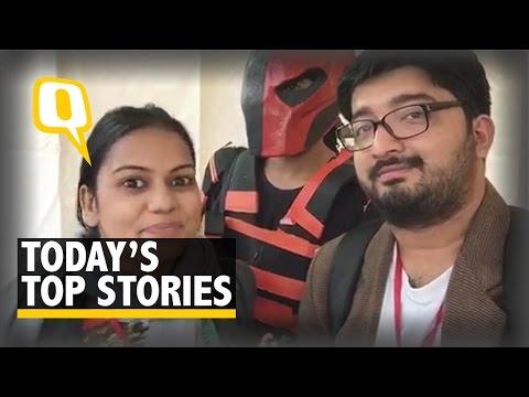 QWrap: Delhi Comic Con, Indrani Mukerjea, #Dieselgate and More