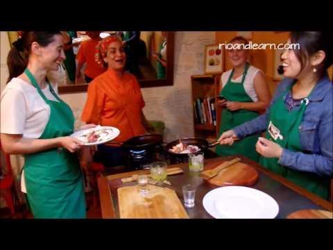 Brazilian Cuisine Class 26.08.16  RioLIVE!
