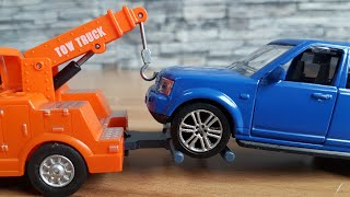 Cars for Kids 4X4 Recovery vehicle wrecker Cars Video for Kids