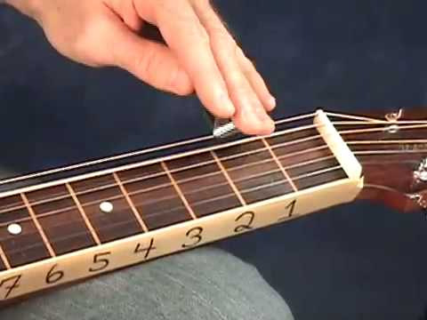 DOBRO LESSONS - THE MODES FOR RESOPHONIC/SLIDE GUITAR - OPEN G TUNING - www.LessonsWithTroy.com