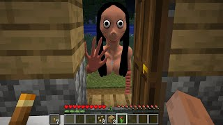 DON&#39T OPEN DOOR to MOMO in MINECRAFT By SCOOBY CRAFT