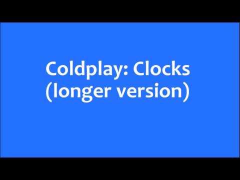 Coldplay: Clocks longer version