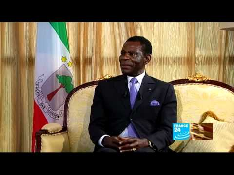 Teodoro Obiang Nguema Mbasogo, président de la République de Guinée Équatoriale 10/04/2012