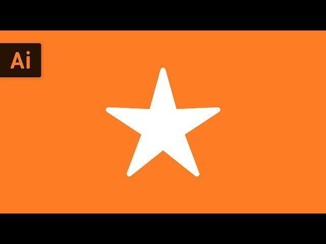 How to Make a Star | Illustrator Tutorial