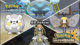 Pokemon UltraSun & UltraMoon - All Totem Pokémon Battles (HQ)