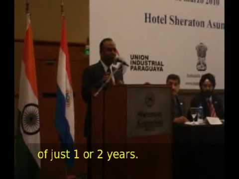 Speech by Indian Ambassador at Business Meeting in Asuncion