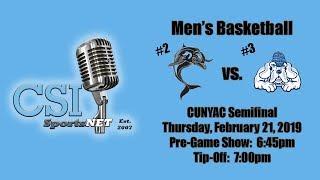 Mens Basketball vs John Jay College - February 21, 2019