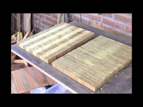 Tabla de picar alimentos invento doovi for Como hacer una tabla para picar de madera
