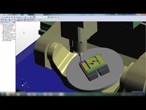 Swarf Operation in Edgecam on Matsuura 5-axis machine