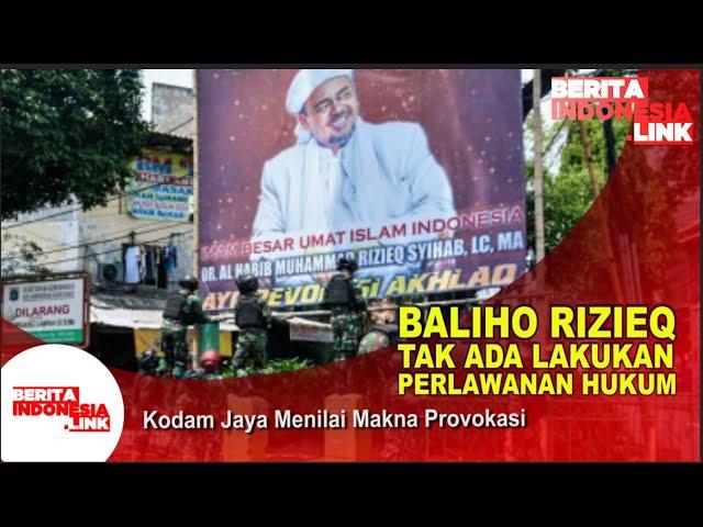 Polri Tidak Temukan Unsur Melawan Hukum Dari Baliho HRS