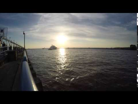 Grand Haven Michigan Canal Timelaps