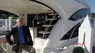 Meridian Yachts 541 Sedan 2011 Yacht Test - By BoatTest.com