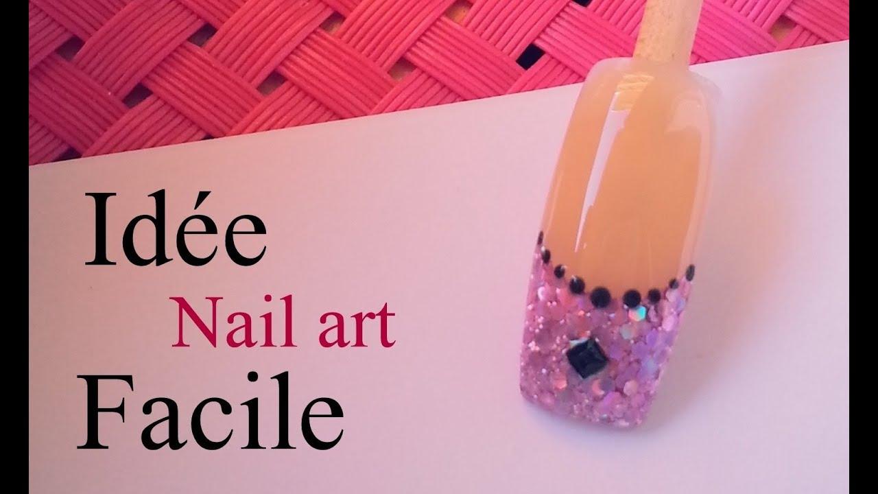 Tuto id e nail art facile comment faire youtube - Idee nail art facile ...