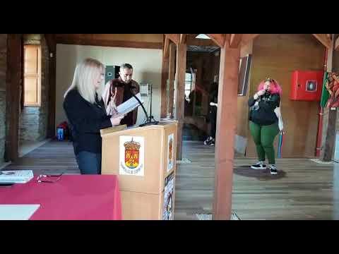 Recital poético na honra de Rosalía de Castro en Cospeito