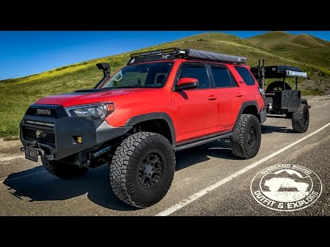 TRD Pro Long Travel 4 Runner Rig Walk Around