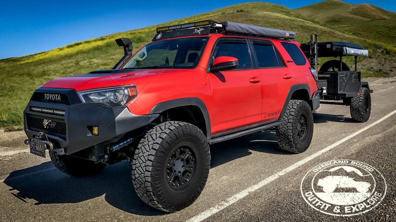 TRD Pro 4Runner Long Travel Build - Overland Bound