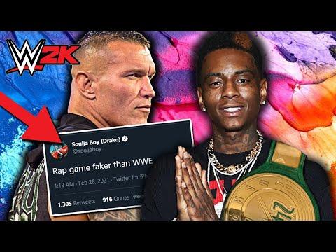 I Put Soulja Boy Against Randy Orton in WWE 2K & This Happened...