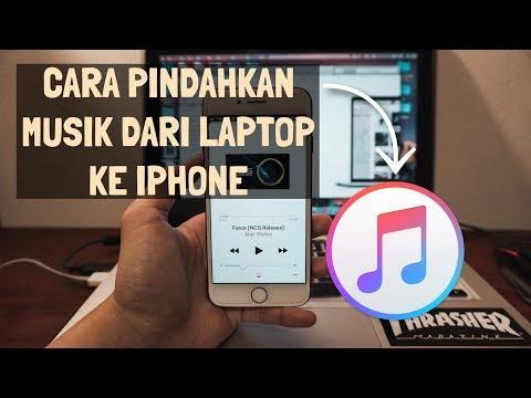 Cara pindahkan musik dari laptop ke iPhone