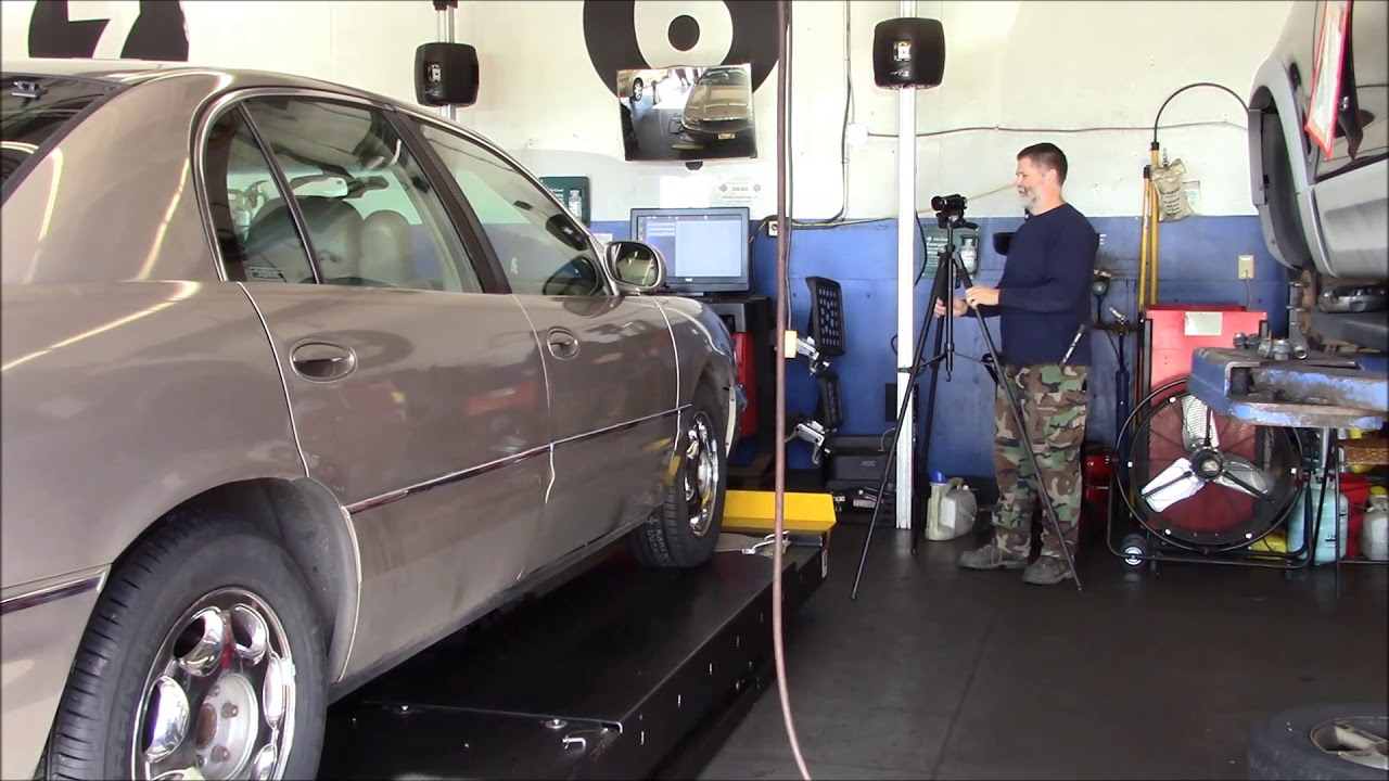 2001 Buick Park Avenue Tire Install And Wheel Alignment Youtube
