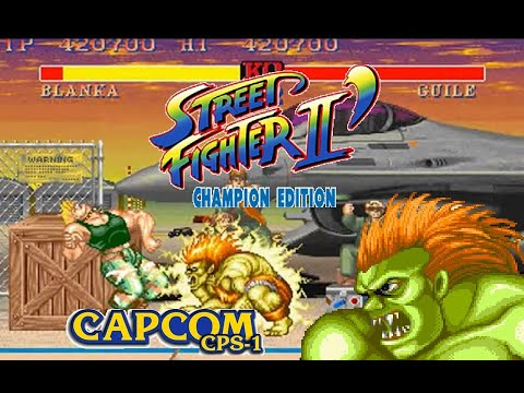 street fighter 2 Champion edition Blanka 2:0 Lev8 Playthrough