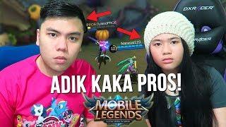 KETIKA PUNYA ADIK CEWE JAGO MAIN ML!?!? - Mobile Legends Indonesia #37
