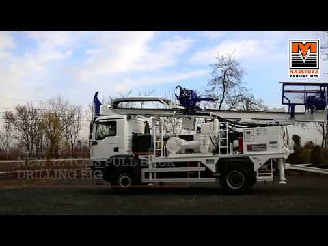 Massenza MI12 drilling rig: automatic and radio remote controlled
