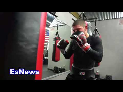 Boxing Prodigy David Kaminsky Amazing Speed And Power Soon To Be Champ - esnews boxing