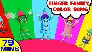 Crayons Finger Family