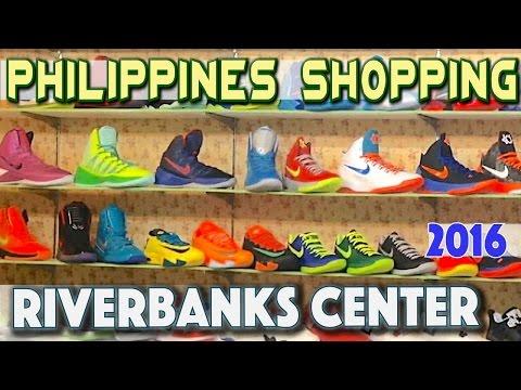 Riverbanks mall   Philippines bargain shopping Marikina   Asia Travel VLOG