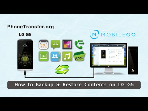 How to Backup and Restore Data in LG G4 or LG G5