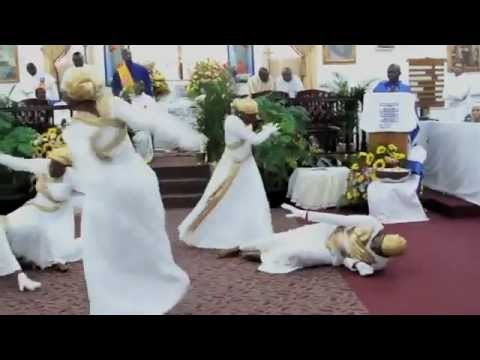 Celestial Church of Christ Miami Mor Parish Celestial Angels Praise Dance Ministry