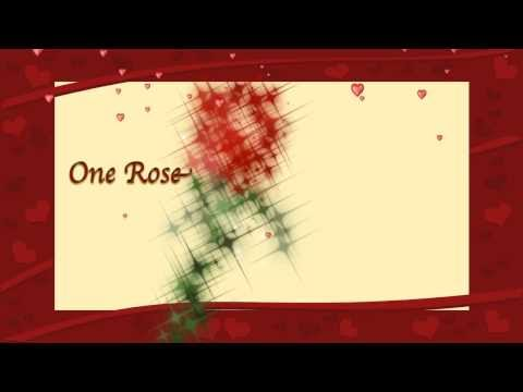 Valentine's Day eCard - One Rose for My One Love