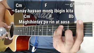 Bakit Ba Ikaw by Michael Pangilinan (Acoustic Minus One/Lyrics/Karaoke With Guitar Chords)