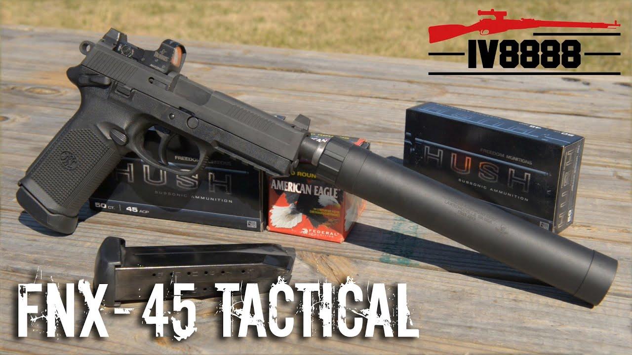 FNH FNX-45 Tactical FDE .45 ACP No CC Fee FN 45 TB