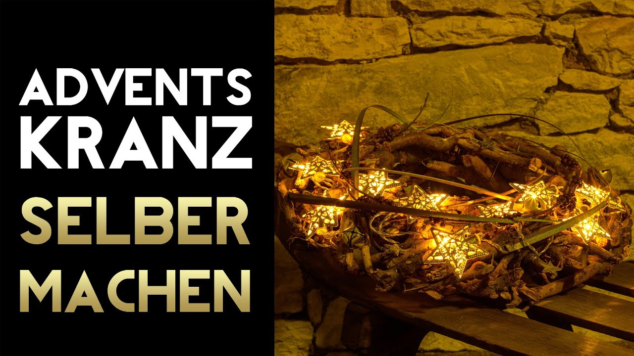 Adventskranz selber machen trend 2014 youtube for Adventskranz selber machen youtube