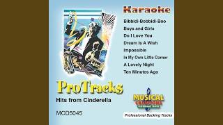A Lovely Night (Karaoke Version Instrumental Only)