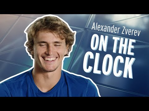 On The Clock: Alexander Zverev - 2018 US Open Tennis