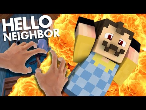 Minecraft Realistic: Hello Neighbor - Evil Mannequin Secret! (minecraft roleplay)