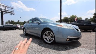 Here's a 2009 Acura TL Tech 9 Years Later | Once Sold For Over $40,000 | For Sale Review Tour