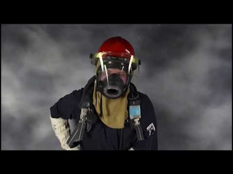 US NAVY *SCBA Self Contained Breathing Apparatus (Firefighting)