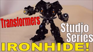 Transformers Studio Series Ironhide with Custom Paint Apps - GotBot True Review NUMBER 458