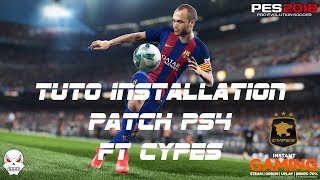 [PES2018 PS4] TUTO Installation Patch